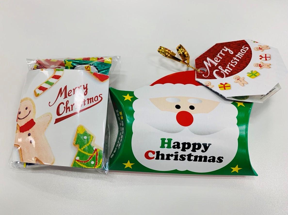 お客様用クリスマスのプレゼント写真