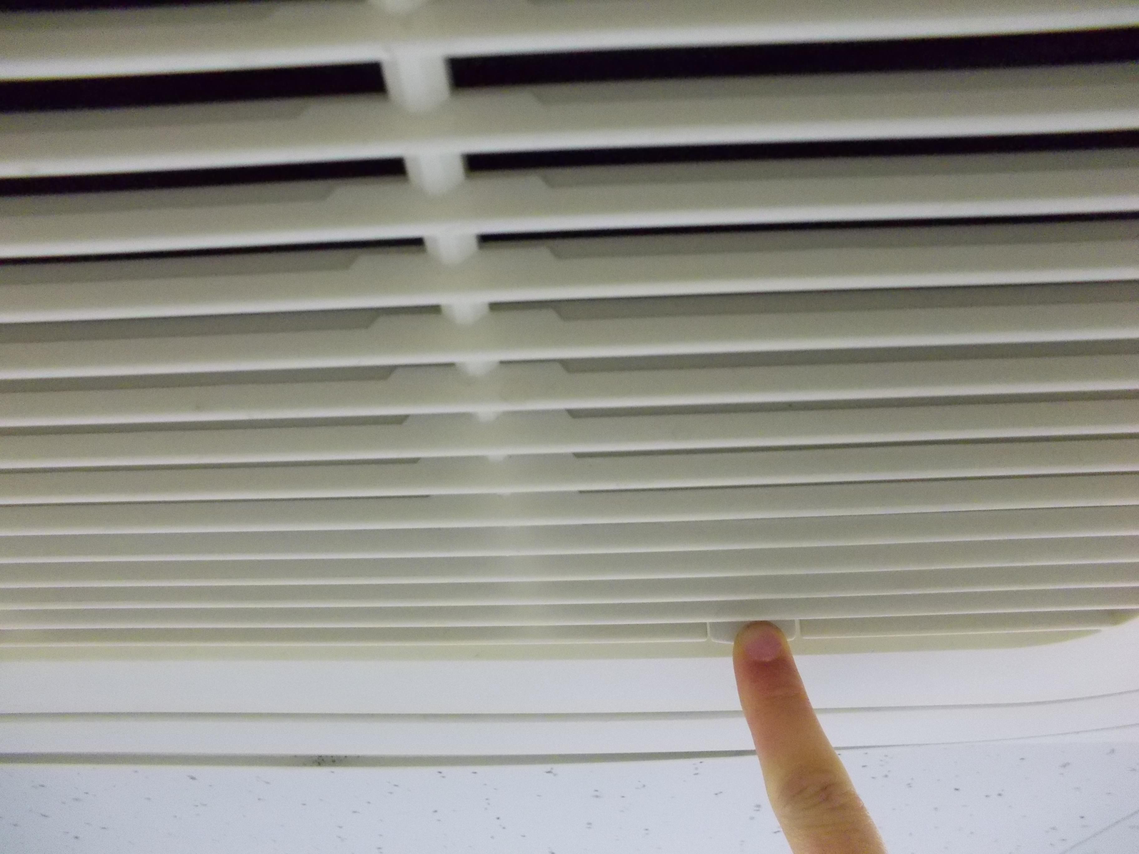 エアコン フィルター 外し方