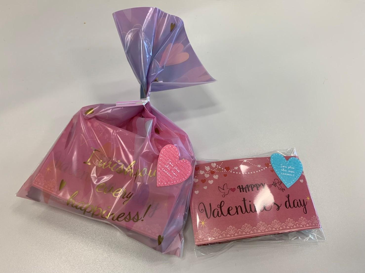 バレンタインプレゼント写真