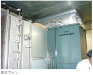 送風機 マンション 地下駐車場換気装置2