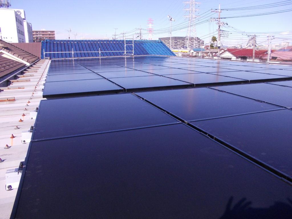 三郷オフィス 太陽光発電蓄電池設置