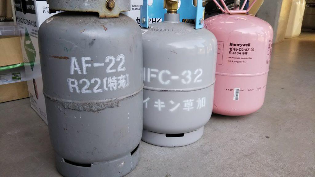 R22 ボンベ写真