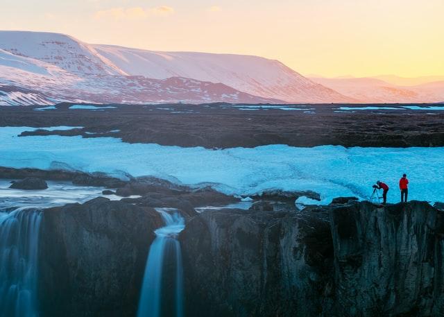 解ける氷河