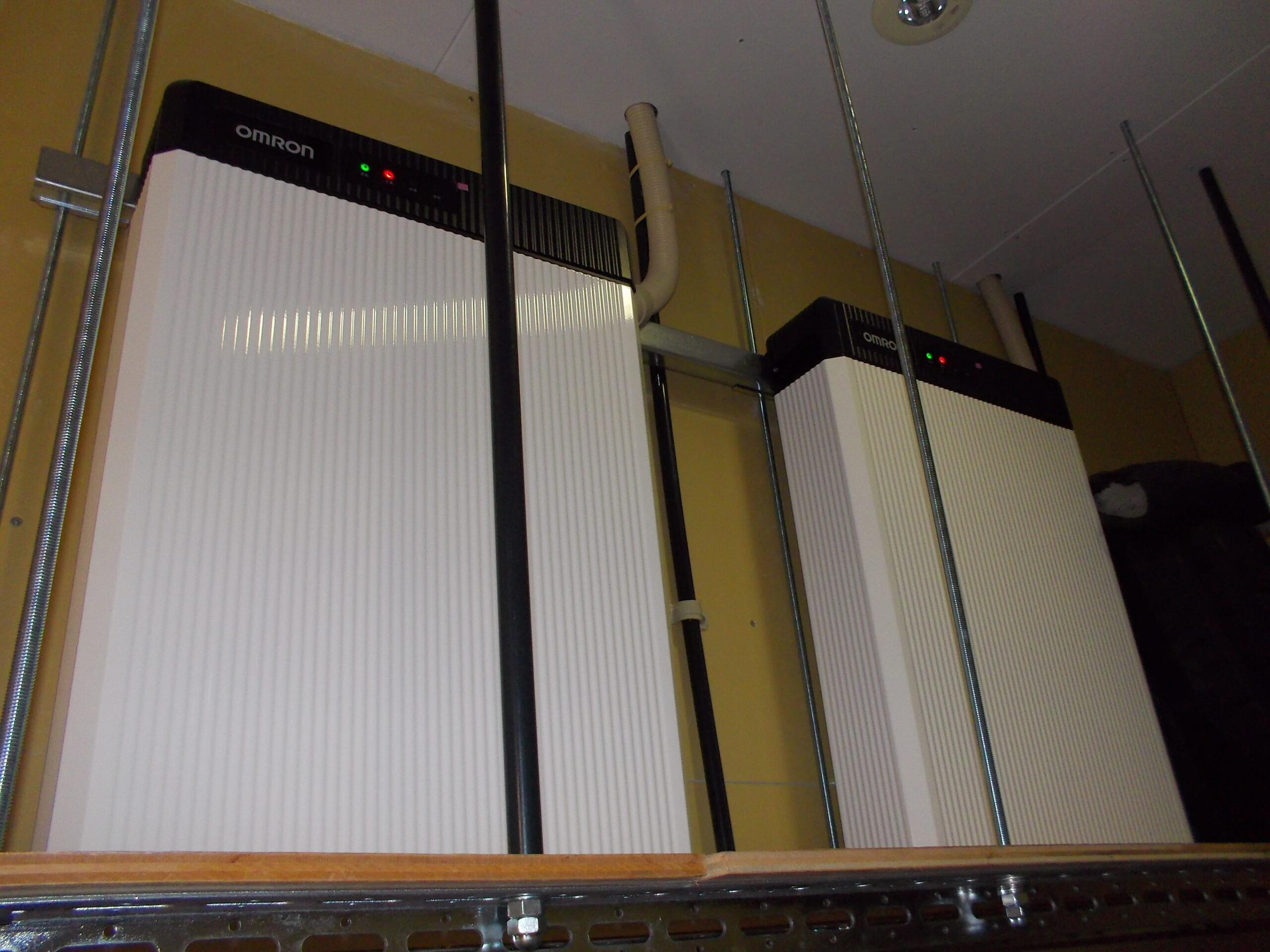 三郷オフィスの蓄電池の写真